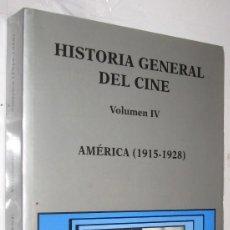 Libros de segunda mano: AMERICA 1915-1928 - HISTORIA GENERAL DEL CINE CATEDRA VOLUMEN IV - ILUSTRADO *. Lote 109474591