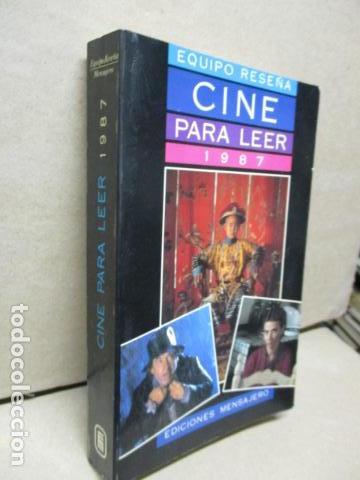 Libros de segunda mano: CINE PARA LEER, Historia crítica de un año de cine 1987 - EQUIPO RESEÑA EQUIPO RESEÑA - Foto 2 - 109829999