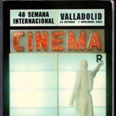 Libros de segunda mano: CINEMA, 48 SEMANA INTERNACIONAL, 2003. Lote 110039255