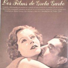 Libros de segunda mano: LOS FILMS DE GRETA GARBO - CONWAY MICHAEL / MCGREGOR/ RICCI. Lote 110410379