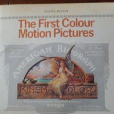 Libros de segunda mano: THE FIRST COLOUR MOTION PICTURES. Lote 111676828