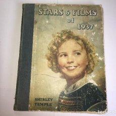 Libros de segunda mano: LIBRO DE ESTRELLAS Y PELICULAS DE 1937 - EN INGLES. Lote 111917111
