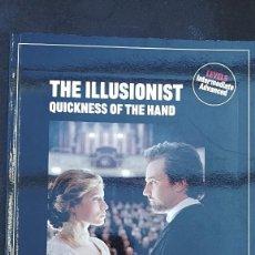 Libros de segunda mano: THE ILLUSIONIST QUICKNESS OF THE HAND RBA REVISTAS 1985. Lote 112018439