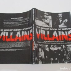 Libros de segunda mano: JAN STCY, RYDER SYVERTSEN. THE GREAT BOOK OF MOVIE VILLAINS. RMT85547. . Lote 112392343
