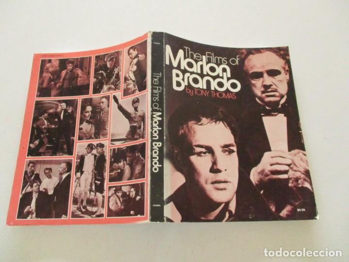 TONY THOMAS. THE FILMS OF MARLON BRANDO. RMT85553. (Libros de Segunda Mano - Bellas artes, ocio y coleccionismo - Cine)