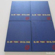 Libros de segunda mano: LUIS GASCA (DIR.). EL EROTISMO EN EL CINE. CUATRO TOMOS. RM85587. . Lote 112395055