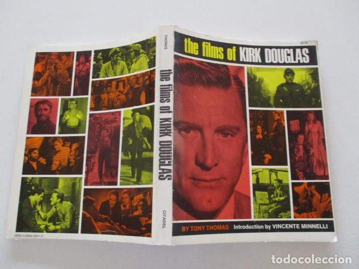 TONY THOMAS. THE FILMS OF KIRK DOUGLAS. RM85591. (Libros de Segunda Mano - Bellas artes, ocio y coleccionismo - Cine)