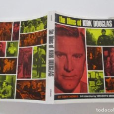 Libros de segunda mano: TONY THOMAS. THE FILMS OF KIRK DOUGLAS. RM85591. . Lote 112395363