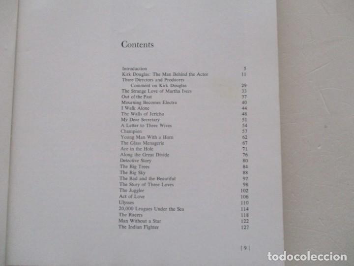 Libros de segunda mano: TONY THOMAS. The Films of Kirk Douglas. RM85591. - Foto 2 - 112395363