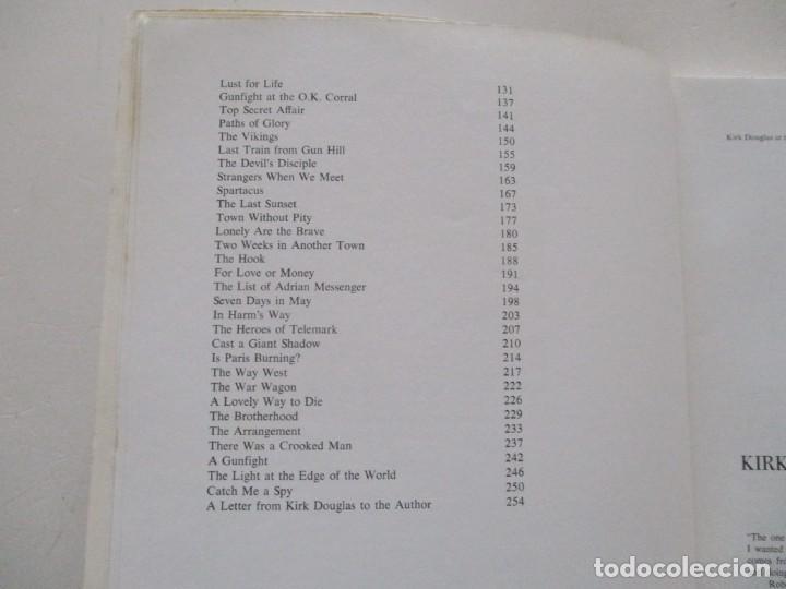 Libros de segunda mano: TONY THOMAS. The Films of Kirk Douglas. RM85591. - Foto 3 - 112395363