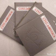 Libros de segunda mano: COLECCION COMPLETA CINE Y MUSICA 4 VOLUMENES Y 60 DISCOS VINILO SIN ESTRENAR SALVAT. Lote 112420795