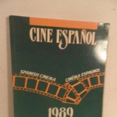 Libros de segunda mano: LIBRO CINE ESPAÑOL 1989 SPANISH CINEMA ESPAGNOL MINISTERIO DE CULTURA. Lote 112752983