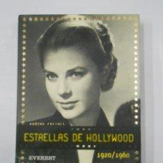 Libros de segunda mano: ESTRELLAS DE HOLLYWOOD 1920/1960. - FERRARI, ANDREA. EDITORIAL EVEREST. TDK165. Lote 112866443