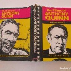 Libros de segunda mano: ALVIN H. MARILL. THE FILMS OF ANTHONY QUINN. RM85641. . Lote 113058015