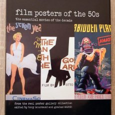 Libros de segunda mano: FILM POSTERS OF THE 50 S THE ESSENTIAL MOVIES OF THE DECADE. Lote 113247659