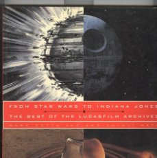 Libros de segunda mano: THE BEST OF LUCASFILMS ARCHIVES. STAR WARS. INDIANA JONES. GUERRA GALAXIAS. USA 1994. Lote 113552439