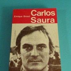 Libros de segunda mano: CARLOS SAURA. ENRIQUE BRASÓ. Lote 113951615