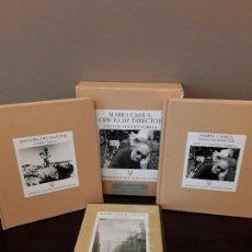 Libros de segunda mano: MARIO CAMUS OFICIO DE DIRECTOR ESTUCHE CON 2 LIBROS + DVD JOSÉ LUIS SÁNCHEZ NORIEGA. Lote 114010307