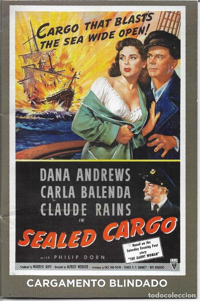 Cine Sealed Cargo Cargamento Blindado Ver Comprar Libros De