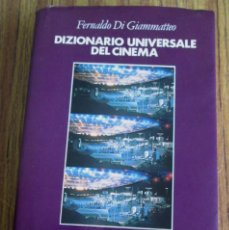Libros de segunda mano: DIZIONARIO UNIVERSALE DEL CINEMA - POR FERNANDO DI GIMMATTEO - EDT RIUNITI 1984. Lote 115231659