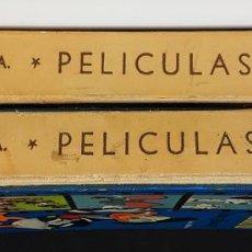 Libros de segunda mano: PELÍCULAS WALT DISNEY. 2 TOMOS. EDIT RECREATIVAS. 1969.. Lote 115555675