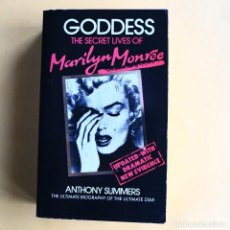 Libros de segunda mano: SECRET LIVES OF MARILYN MONROE - GODDESS - TAPA BLANDA. Lote 115558495
