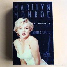 Libros de segunda mano: MARILYN MONROE - BIOGRAFIA - DONALD SPOTO. Lote 115560787