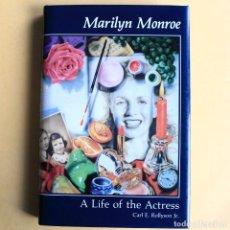 Libros de segunda mano: MARILYN MONROE - A LIFE OF THE ACTRESS. Lote 115564235
