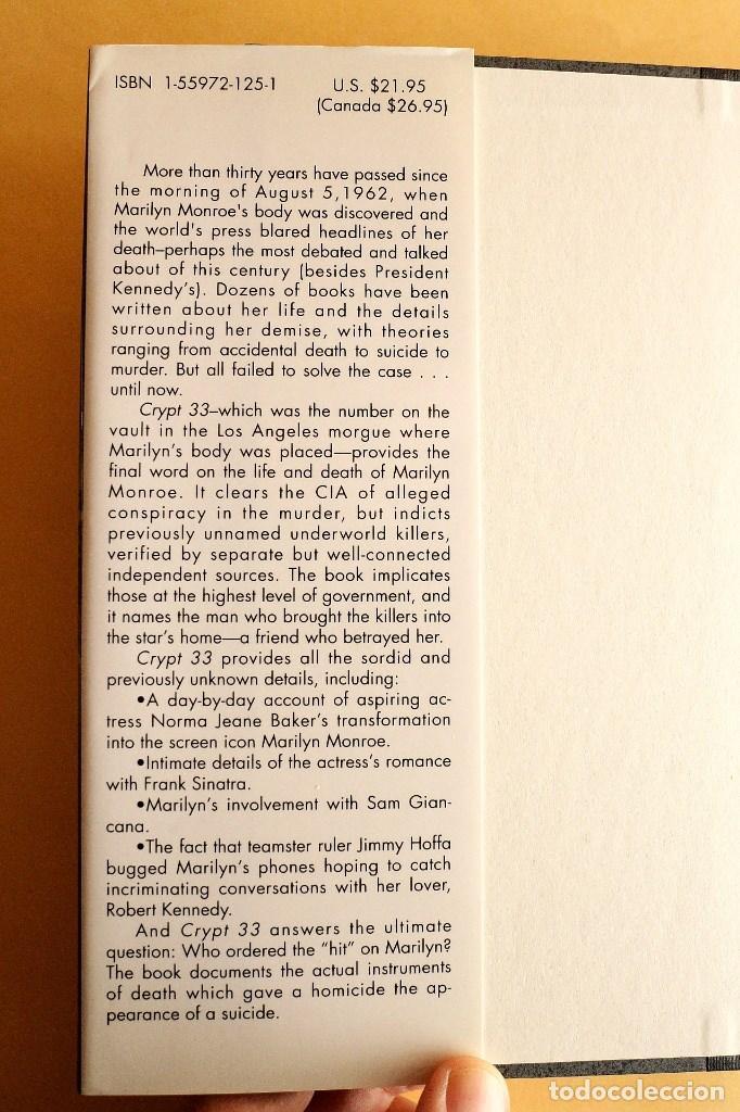 Libros de segunda mano: Marilyn Monroe - crypt 33 - Foto 6 - 115582687