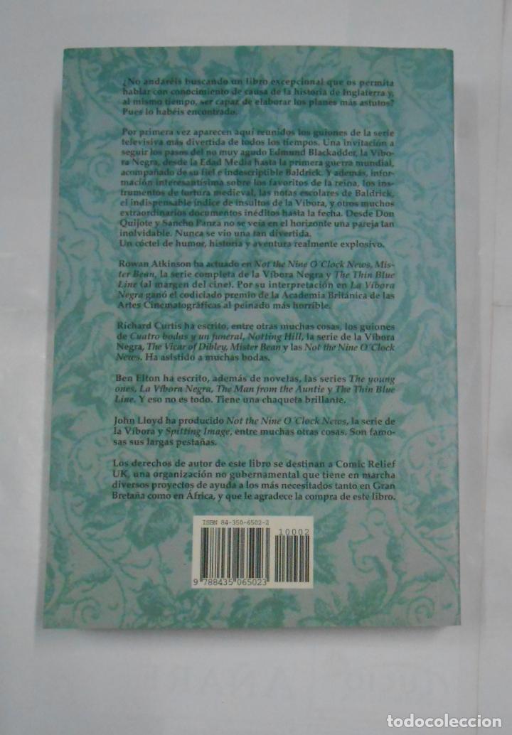 Libros de segunda mano: LA VÍBORA NEGRA Y TODA SU MALDITA DINASTÍA. 1485-1917. EDHASA. TDK167 - Foto 2 - 115816167
