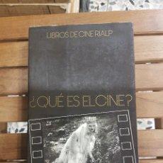 Libros de segunda mano: ¿ QUÉ ES EL CINE? ANDRÉ BAZIN, ILUSTRADO. Lote 116551811