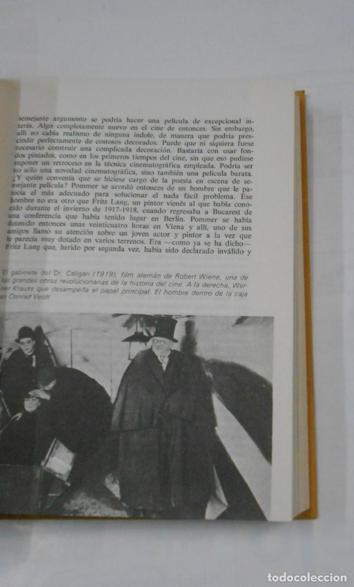 Libros de segunda mano: FRITZ LANG SU VIDA Y SU CINE. FERNANDO MENDEZ-LEITE. EDICIONES DAIMON. TDK341 - Foto 2 - 117279163