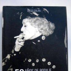 Libros de segunda mano: 50 AÑOS DE RODAJE. FESTIVAL CINE SAN SEBASTIAN, DE DIEGO GALÁN. Lote 117484683