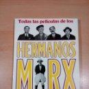 Libros de segunda mano: TODAS LAS PELICULAS DE LOS HERMANOS MARX - ALLEN EYLES - 224 PAGINAS EDICIONES ODIN - BUEN ESTADO . Lote 117930139