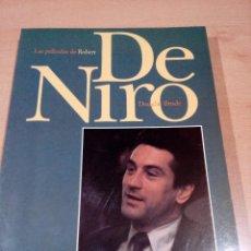 Libros de segunda mano: LAS PELICULAS DE ROBERT DE NIRO - DOUGLAS BRODE - 16 - ODIN EDITORIAL -1996 - 282 PAGINAS - BUEN EST. Lote 118394835