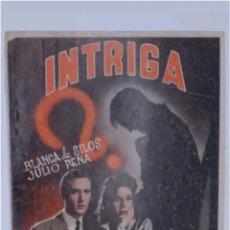 Libros de segunda mano: COLECCION CINE N°13 INTRIGA BLANCA DE SILOS 1943. Lote 118659420