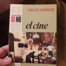 Libros de segunda mano - El cine. Juan José Barreneche. Ed Bruguera 1971 - 118747844