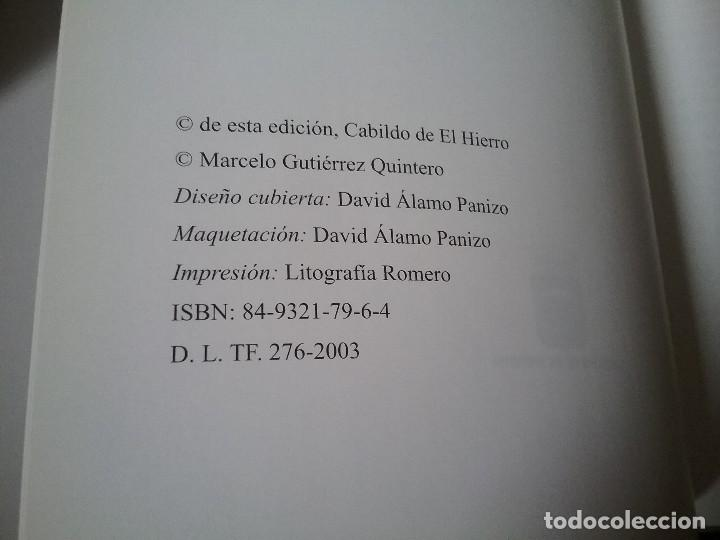 Libros de segunda mano: Apuntes sobre el cinematografo en El Hierro, de Marcelo Gutierrez (2003). Canarias, cine. Excelente - Foto 3 - 119126987