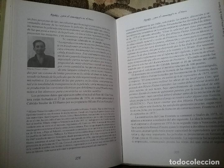 Libros de segunda mano: Apuntes sobre el cinematografo en El Hierro, de Marcelo Gutierrez (2003). Canarias, cine. Excelente - Foto 8 - 119126987