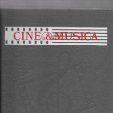 Libros de segunda mano: CINE Y MUSICA LAS OBRAS MAESTRAS DEL CINE - COMPLETA - 4 VOLUMENES - SALVAT. Lote 119996455