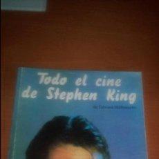 Libros de segunda mano: TODO EL CINE DE STEPHEN KING DE EDWARD HILLBRANCHE EDITORIAL CACITEL. Lote 120200323