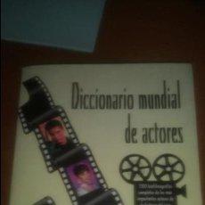 Libros de segunda mano: DICCIONARIO MUNDIAL DE ACTORES EDICIONES JC. Lote 120261735