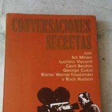 Libros de segunda mano: CONVERSACIONES SECRETAS. BOZE HADLEIGH. PRÓLOGO QUENTIN CRISP (ULTRAMAR EDITORES 1988). Lote 120590647