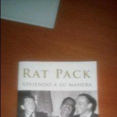 Libros de segunda mano: RAT PACK VIVIENDO A SU MANERA DE JAVIER MARQUEZ. Lote 120683011