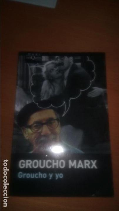 GROUCHO Y YO - MEMORIAS DE GROUCHO MARX (Libros de Segunda Mano - Bellas artes, ocio y coleccionismo - Cine)