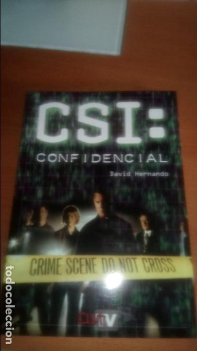 CSI: CONFIDENCIAL DE DAVID HERNANDO (Libros de Segunda Mano - Bellas artes, ocio y coleccionismo - Cine)