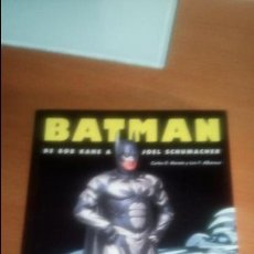 Libros de segunda mano: BATMAN DE BOB KANE A JOEL SCHUMACHER DE CARLOS D. MAROTO. Lote 120959443