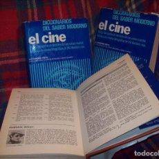 Libros de segunda mano: DICCIONARIOS DEL SABER MODERNO EL CINE. 3 TOMOS. EDMOND ORTS. ED. MENSAJEROS. 1985. VER FOTOS.. Lote 121870783