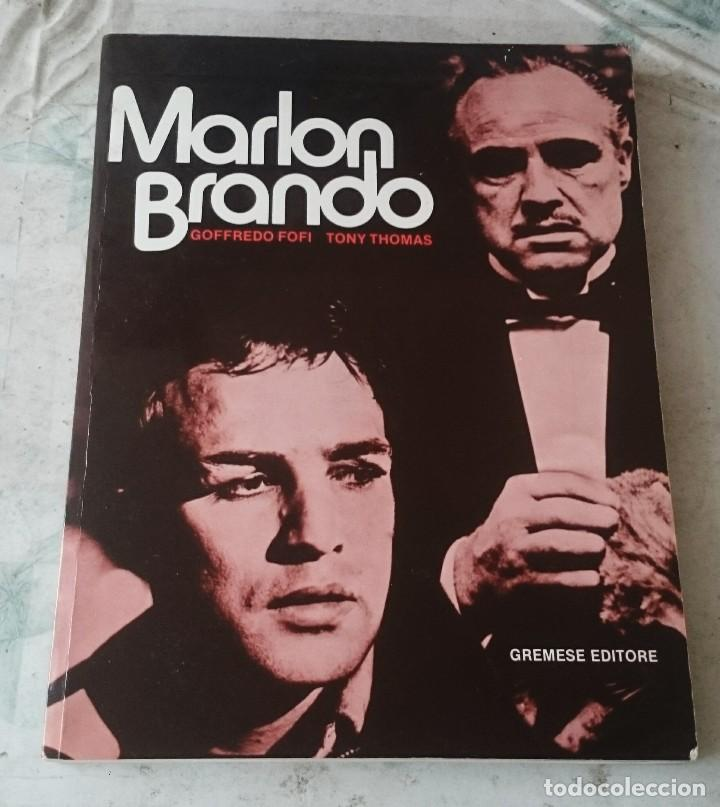 MARLON BRANDO. GOFFREDO FOFI, TONY THOMAS (GREMESE EDITORE 1983) (Libros de Segunda Mano - Bellas artes, ocio y coleccionismo - Cine)