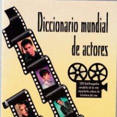 Libros de segunda mano: DICCIONARIO MUNDIAL DE ACTORES - V.V.A.A. - JC EDICIONES 1998 / ILUSTRADO. Lote 122211335